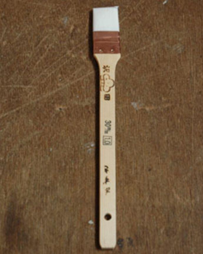 ペイント お部屋づくりの材料(建材) ハンドルオリジナルペイント用具セット。目地刷毛細かい部分のペイントに使います。(PS-01)