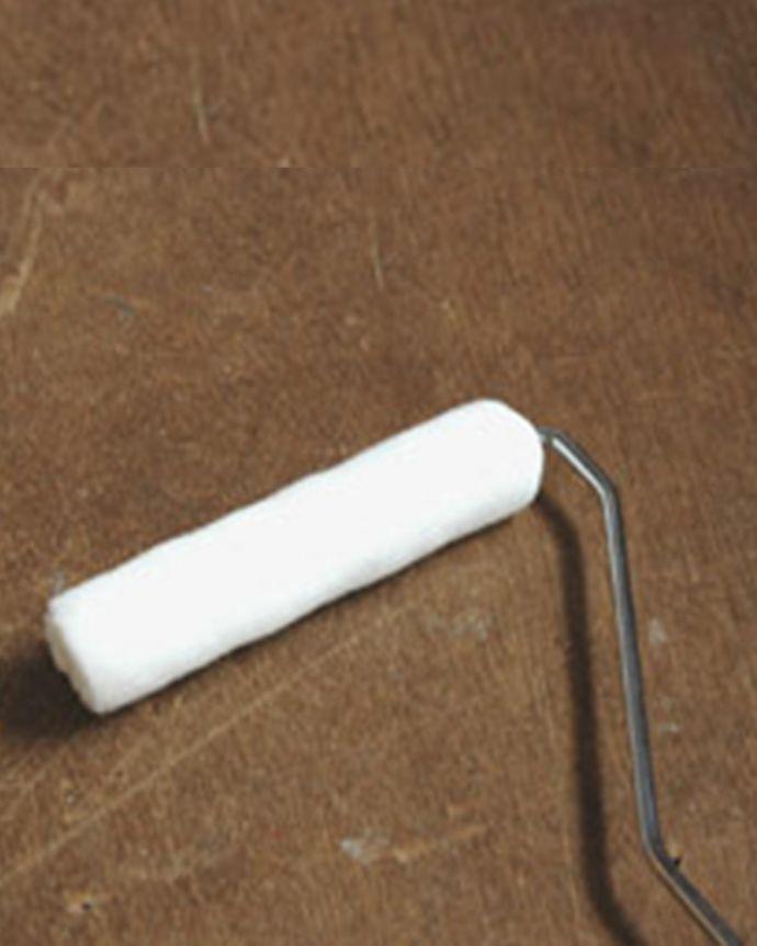 ペイント お部屋づくりの材料(建材) ハンドルオリジナルペイント用具セット。ローラー表面がざらついている広範囲を塗るときに使います。(PS-01)