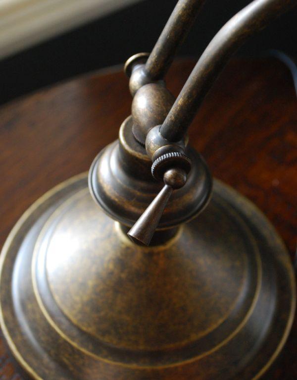 TL-0020 真鍮製テーブルランプ(ピアノライト)アンティーク色