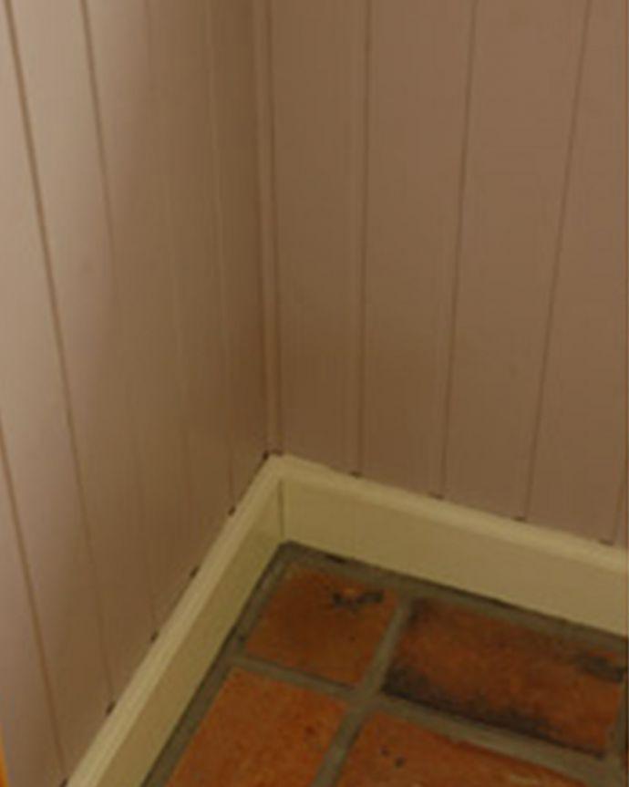 板壁・モール お部屋づくりの材料(建材) Handleオリジナル板壁キット。こんな所にもこだわってます実は、幅木も太めでカッコいいものをセレクトしています。(TOK-A)