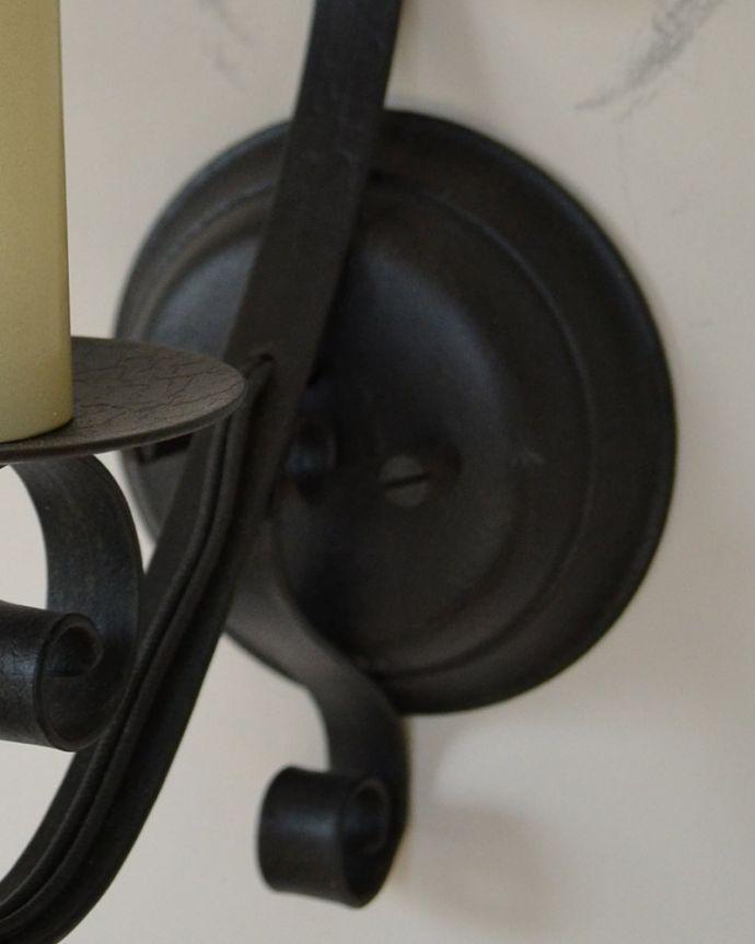 WR-032 アンティーク風オリジナル壁付けブラケット照明(ウォールブラケット)の土台