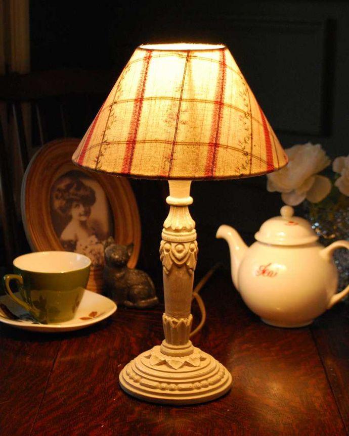 cf-1007 テーブルランプの点灯