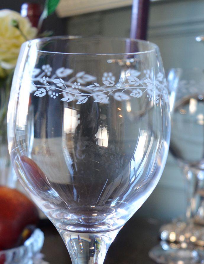 cf-207 ワイングラスのアップ