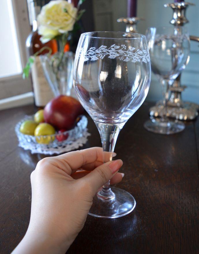 cf-207 ワイングラスの手入り