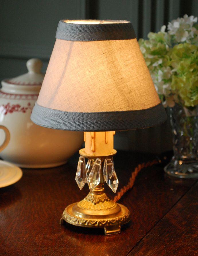 cfs-222 コントワール・ド・ファミーユのテーブルランプの点灯時
