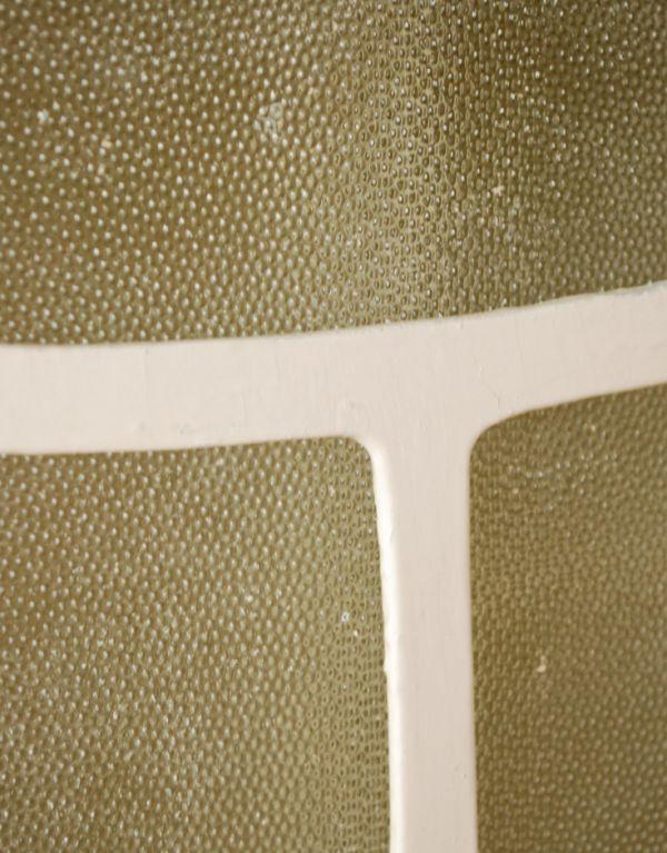 d-1079-f アンティークスモールキャビネット(ホワイト)の汚れ