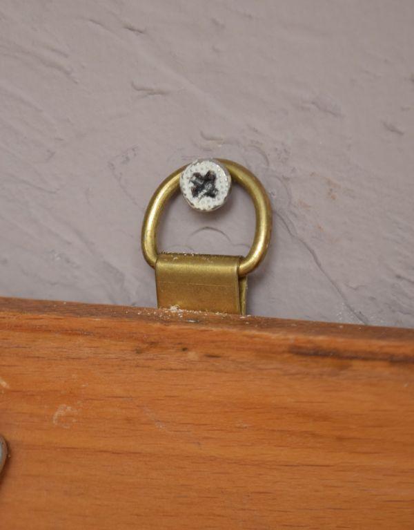 d-1004-f アンティークフックボードのネジ穴