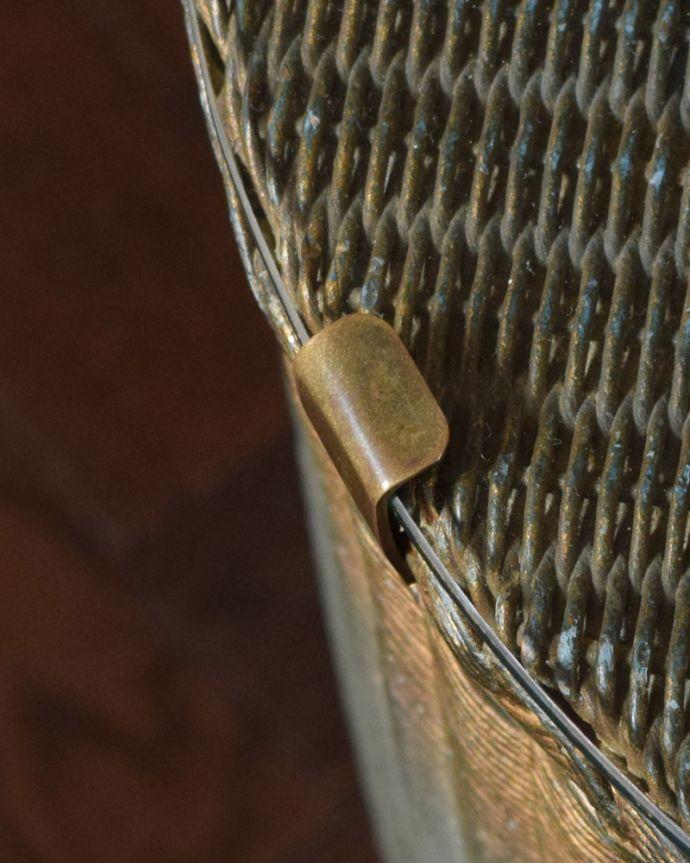 d-1155-f アンティークロイドルームボックス(ブルー)の角