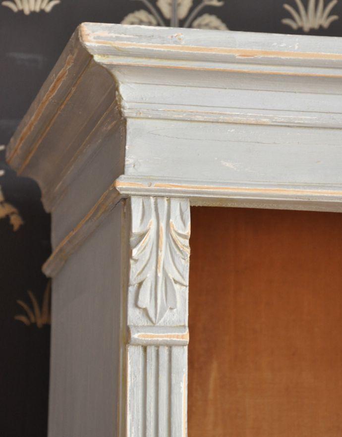 d-1183-f アンティークワードローブの装飾
