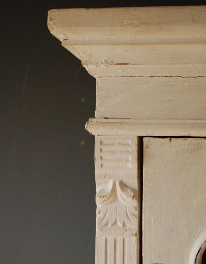 d-1188-f ペイントのガラスキャビネットの装飾2