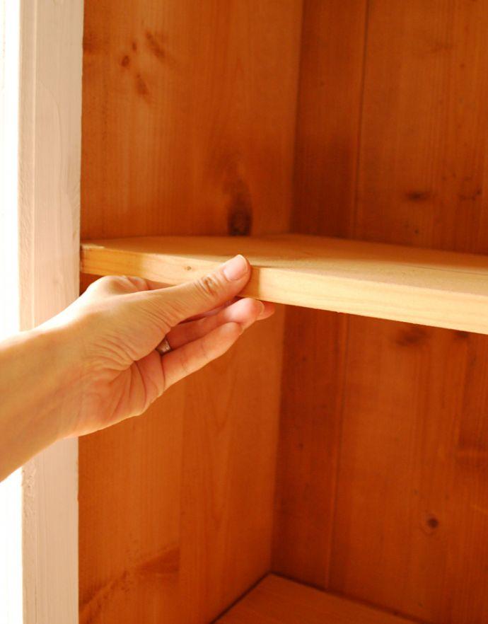 d-1188-f ペイントのガラスキャビネットの棚板