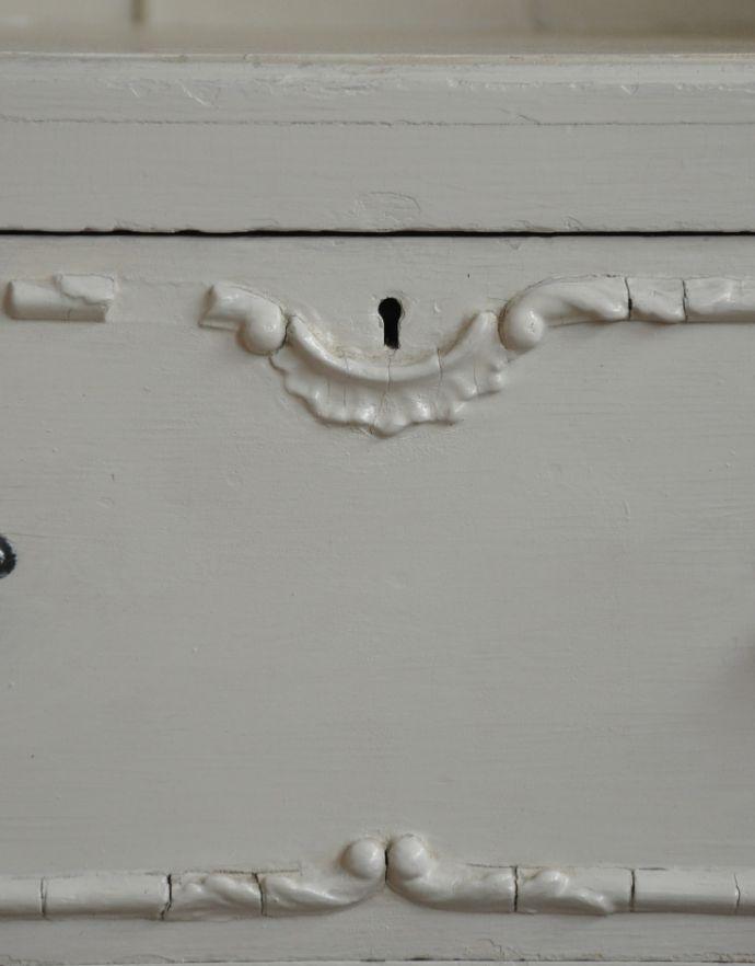 d-1189-f アンティークキャビネットの鍵穴