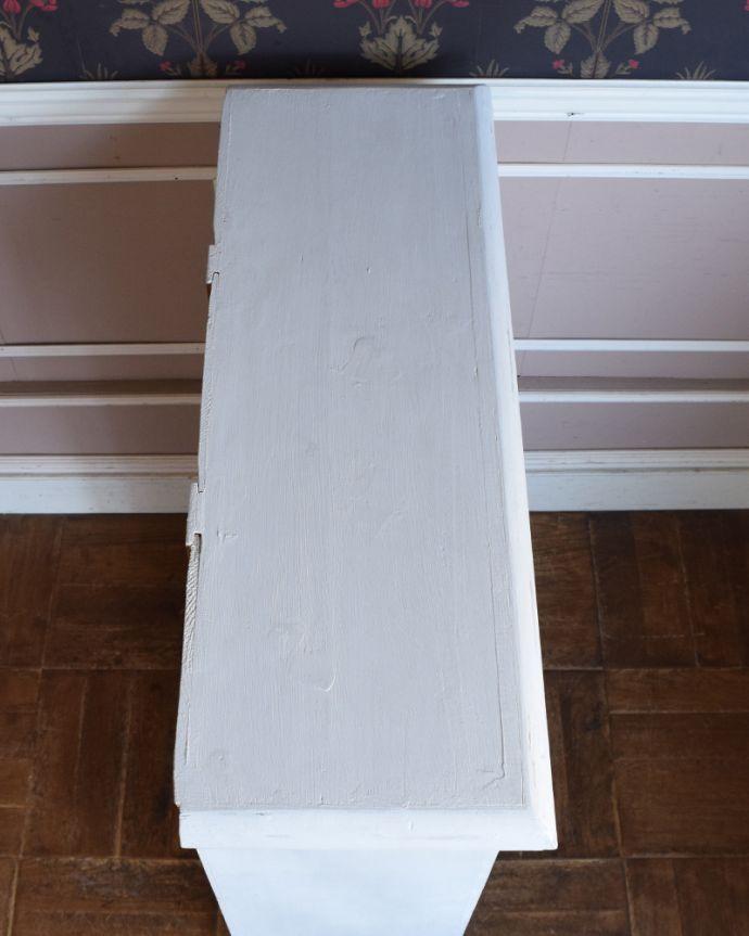 d-1234-f アンティークオープンブックシェルフの天板