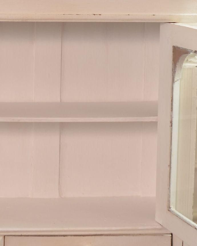 d-1240-f アンティークガラスキャビネットの棚板