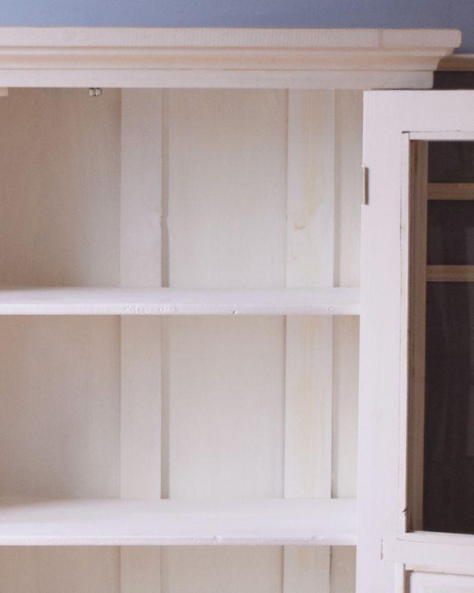 d-1241-f アンティークガラスキャビネットの棚板
