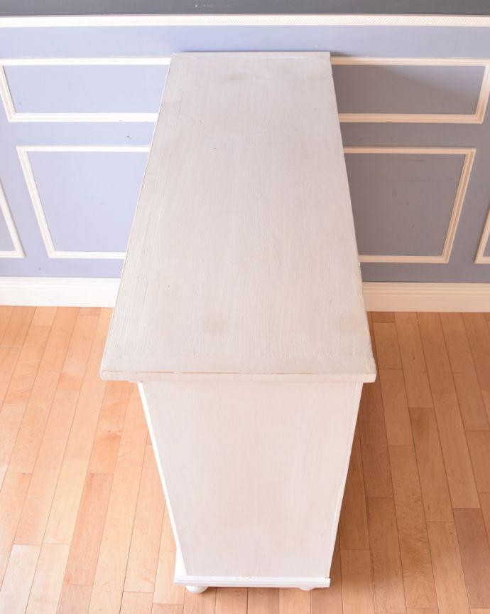 d-1241-f アンティークガラスキャビネットの天板