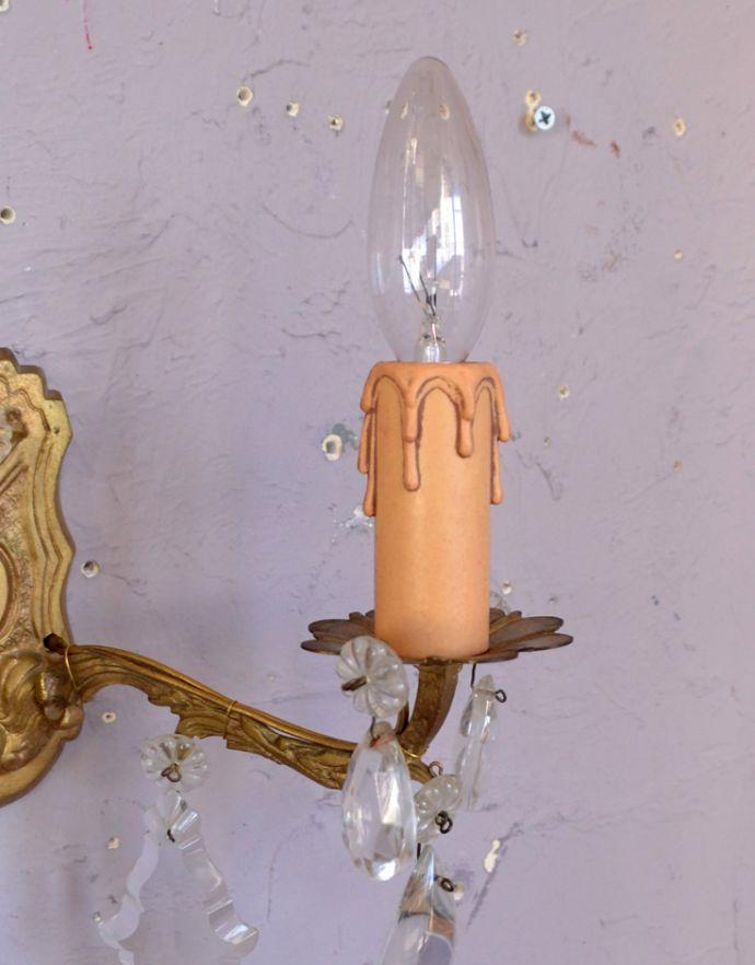 アンティークウォールシャンデリアの装飾2