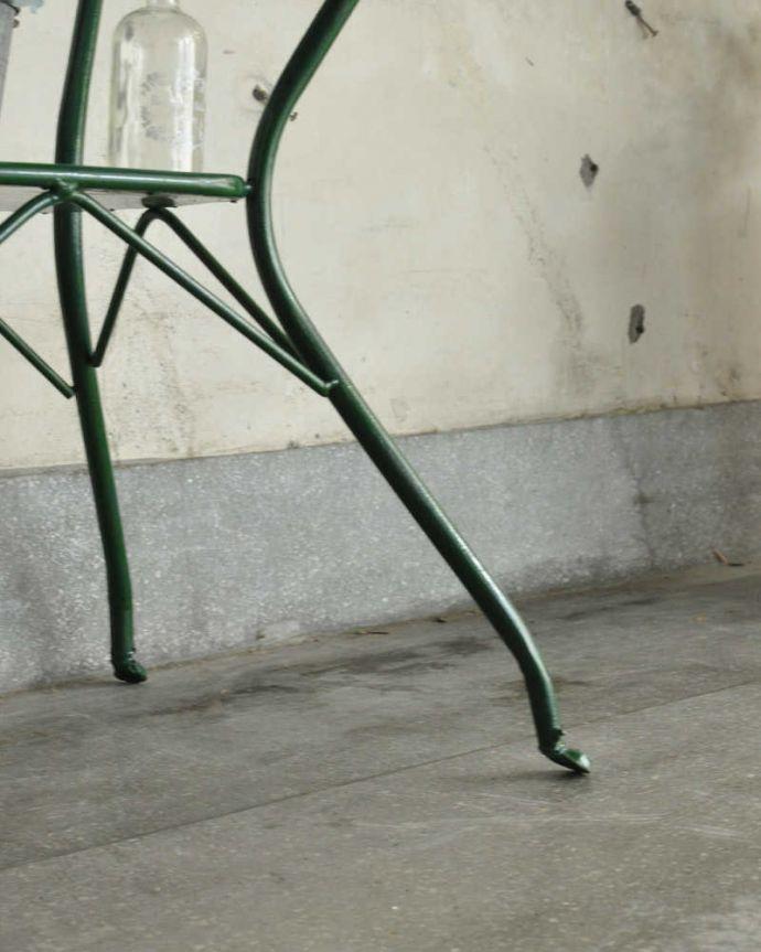 d-1312-f アンティークウォッシュスタンド(ライトブルー)の脚