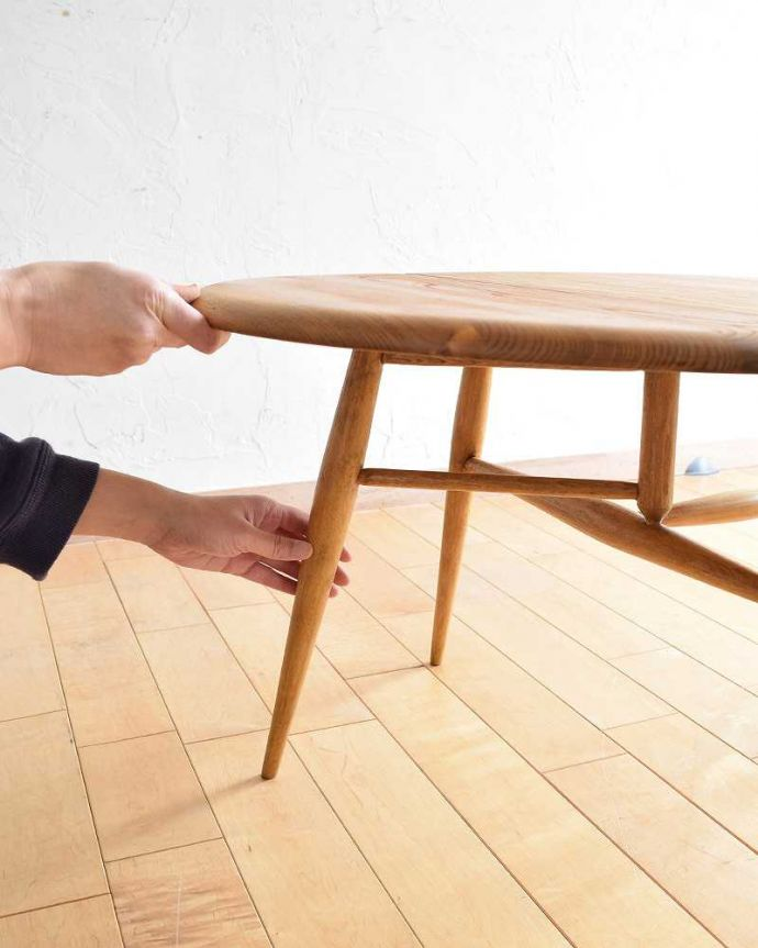 d-1321-f アーコールテーブルの組み立て