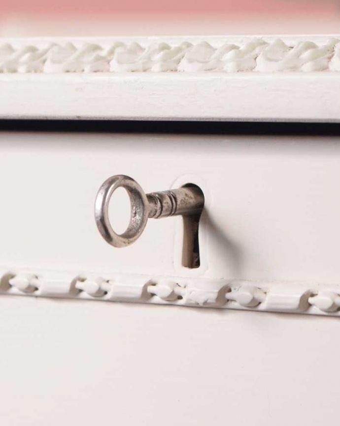 d-1349-f アンティークウェルシュドレッサーの鍵