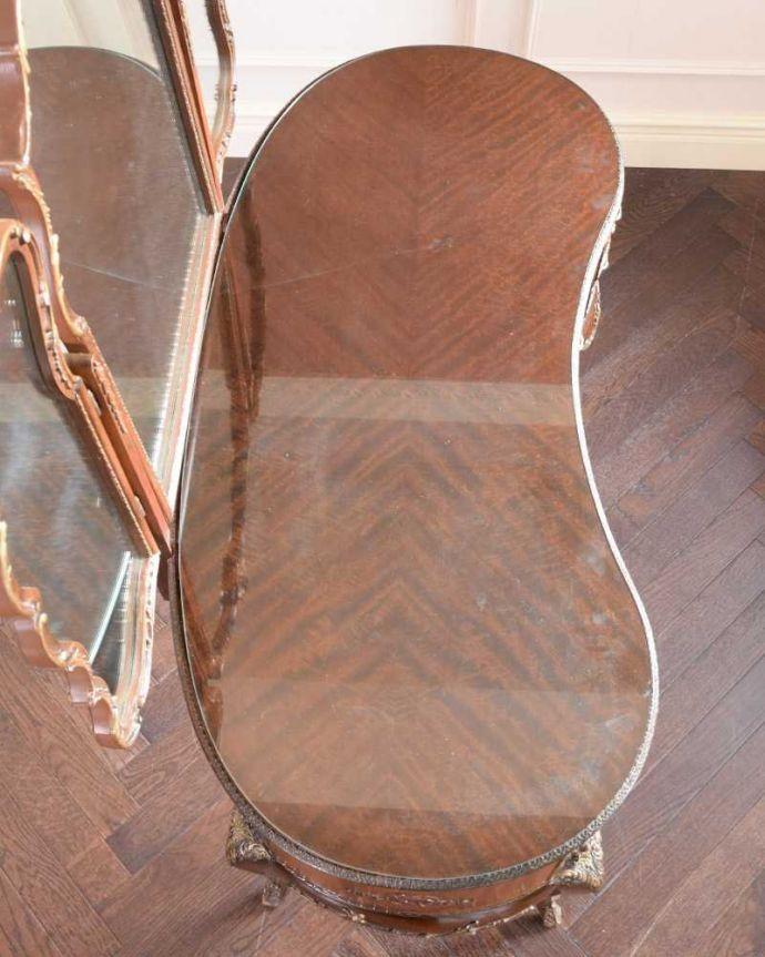 d-1357-f アンティークドレッシングテーブルの天板