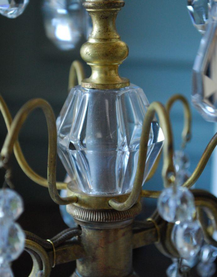 d-1391-z テーブルシャンデリアのガラスパーツ