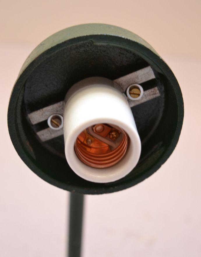 d-1427-z アンティークポーチライト・グリーン(外灯)の口径