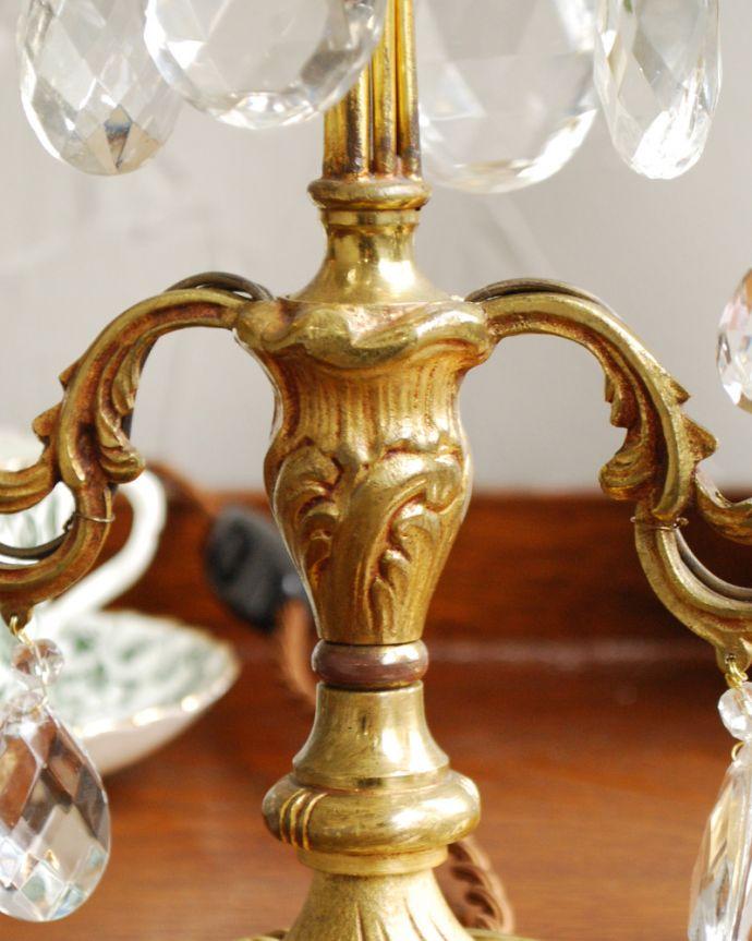d-1434-z アンティークテーブルシャンデリアの装飾