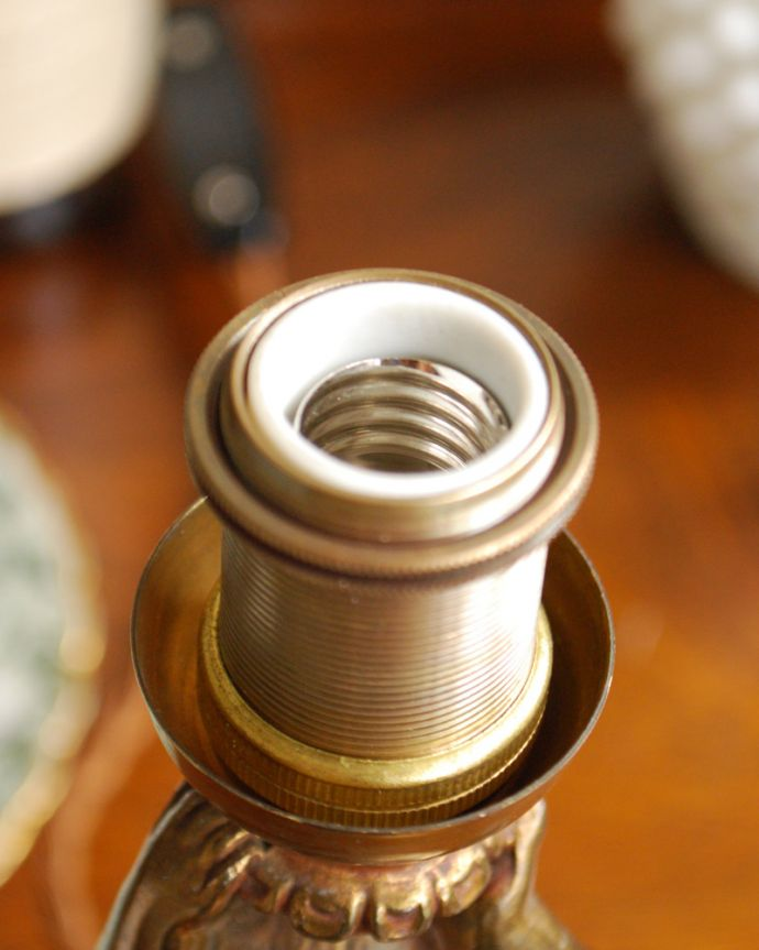 d-1441-z アンティークテーブルシャンデリアのソケット