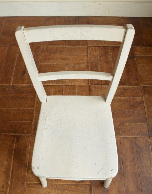 d-853-c アンティークスクールチェアの座面