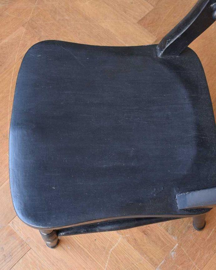 d-920-c アンティークキッチンチェアの座面
