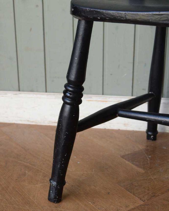 d-920-c アンティークキッチンチェアの脚
