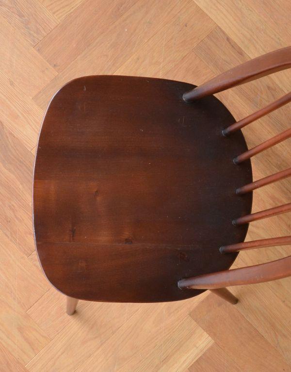 ear-2-kt アンティークアーコールクエーカーチェアの座面