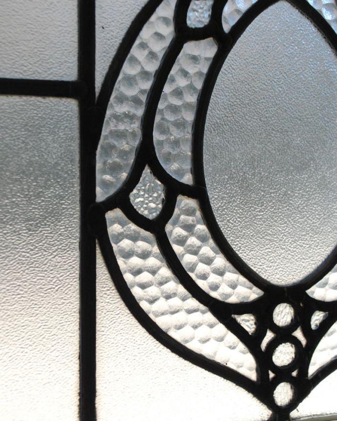 g-990 アンティークステンドグラスのガラス