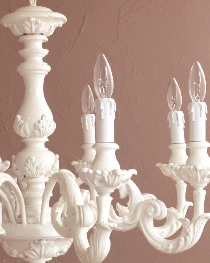 照明・ライティング シャンデリア 可愛いデザイン思わず微笑んじゃうくらい可愛いデザインはフランスらしさ<。(h-384-z)