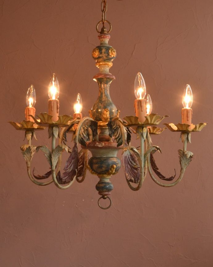 照明・ライティング シャンデリア 夜がくるのが、なんだか楽しみになる灯り暗くなって灯りを点ける時間が楽しみになるデザイン。(h-392-z)