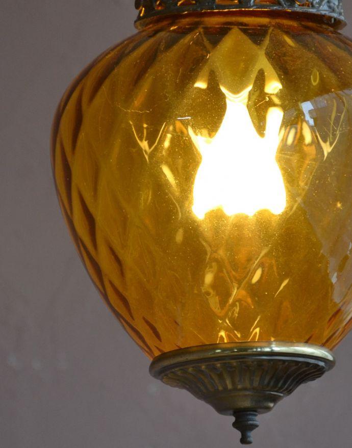 おしゃれなアンティーク風の照明器具