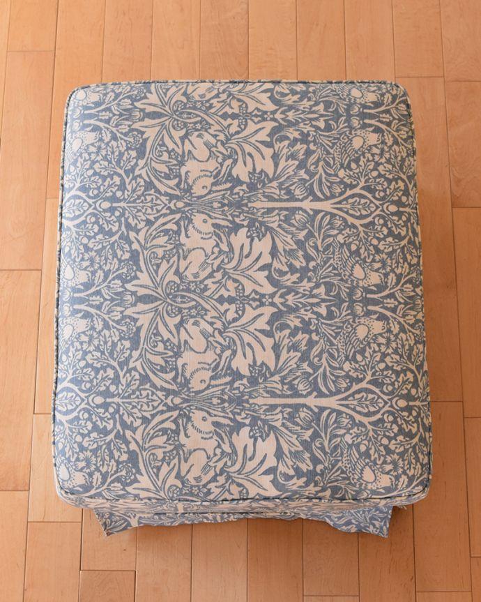 アンティーク風の椅子 アンティーク風 お家の洗濯機で洗えるHandleオリジナルスツール ブレアラビット。(hos-201)