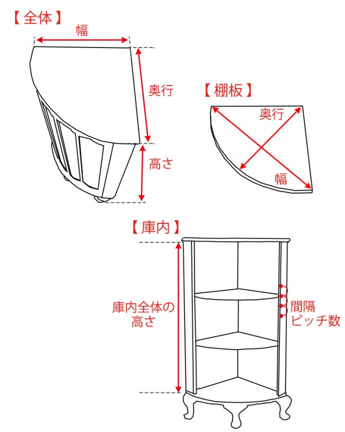 q-1199-f サイズ表記