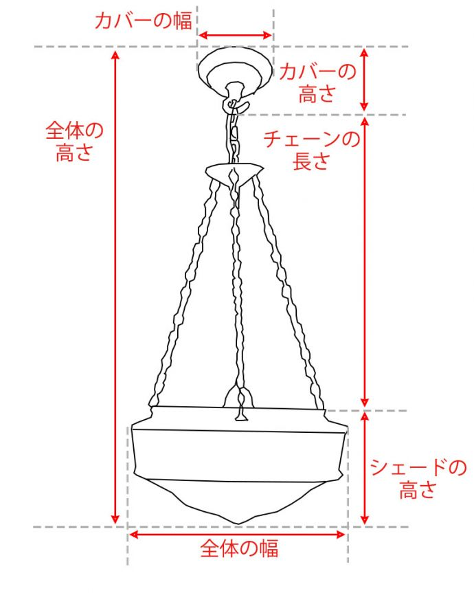 【照明器具商品UP用】 アンティーク ハンギングボウル。。(htl-2-5-1h)