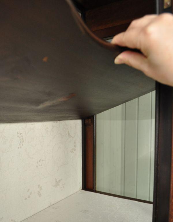 j-1264-f アンティークショーケースの棚板