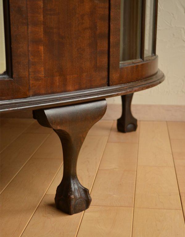 j-1319-f アンティークガラスキャビネットの脚