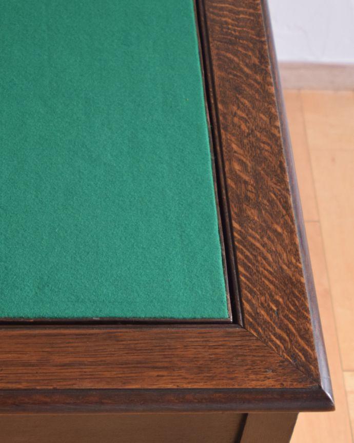 j-1480-f-1 アンティークオケージョナルテーブル(ゲームテーブル)の角