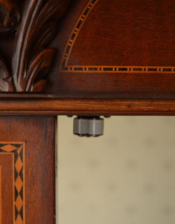 j-1495-f アンティークガラスキャビネットのマグネット