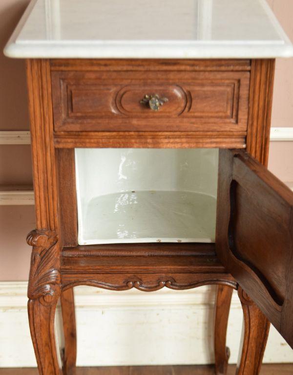 j-1539-f アンティークナイトテーブルのオープン時