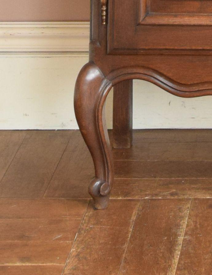 j-1681-f アンティークガラスキャビネットの脚