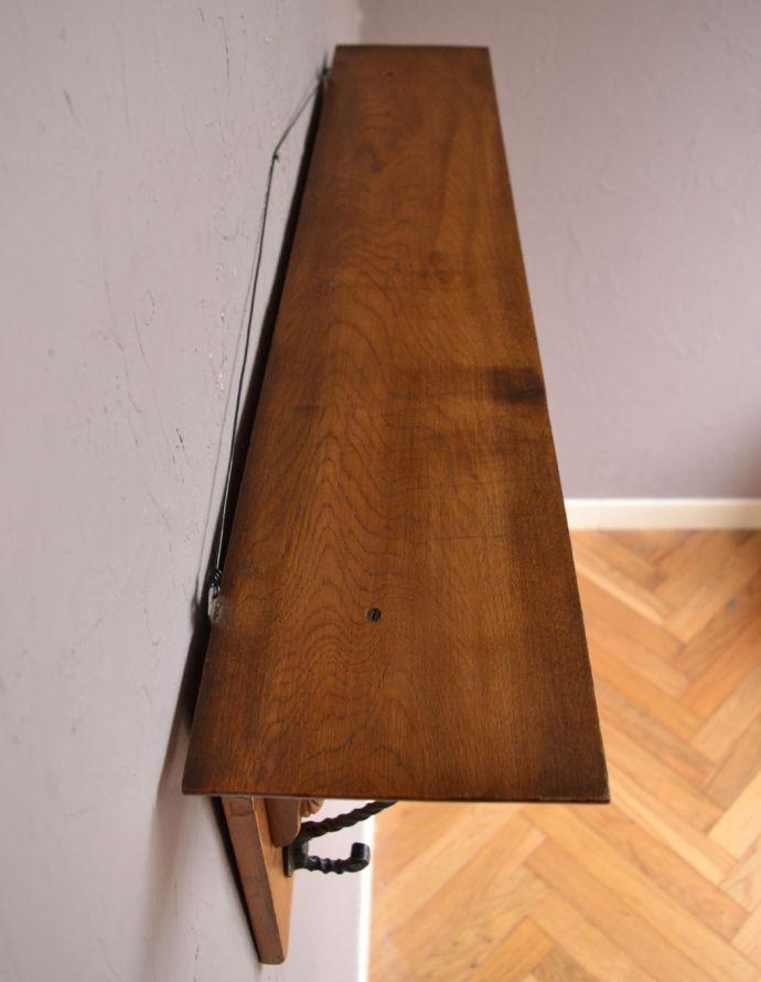 j-1691-z アンティークウォールハンガーの天板