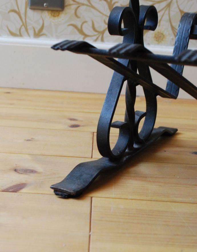 j-1698-f アンティークマガジンラックの脚