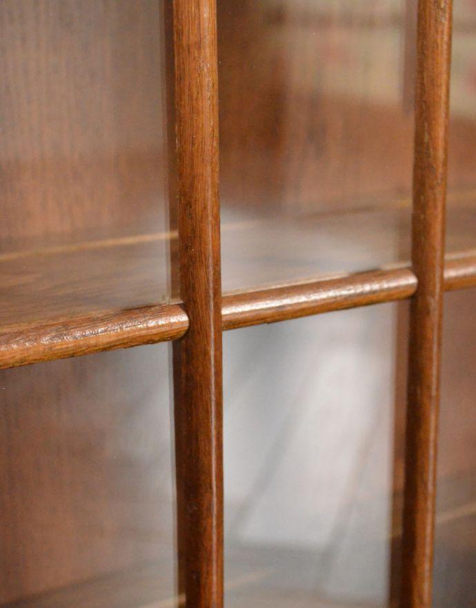 j-1722-f アンティークウォールガラスキャビネットのガラス
