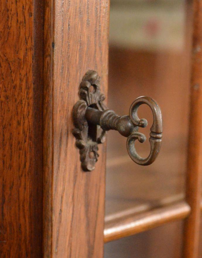 j-1722-f アンティークウォールガラスキャビネットの取っ手